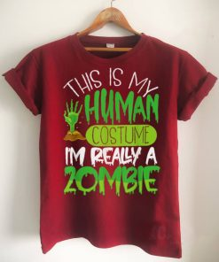 Official This is my Human Costume Im Really a Zombie Essential T Shirt